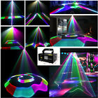 RGB Full Color Scan Effect Laser Beam Line Pattern DJ Stage Light With Remote