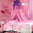 Girls Mosquito Net Canopy Mesh Room Play Princess Reading Round Dome Butterfly image