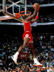 Michael Jordan Chicago Bulls Dunk NBA Wall Print POSTER FR on eBay