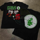 NEW!! 90's Public Enemy Concert T-Shirt Apocalypse 1991 Hip Hop Rap  image