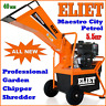 More images of Eliet Maestro City 5.5hp Professional Petrol Chipper Shredder Mulcher 40mm