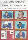 1966 TOPPS FOOTBALL YOU PICK FROM SCANS # 1 TO # 131 $5.0 USD on eBay