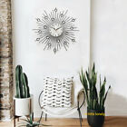 Hanging Wall Clock Iron Wire Practical Low Noise Accurate Bedroom Drop Resistant