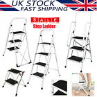 Steel Step Ladder Folding Household 2 3 4 Step Workshop Warehouse Small Tool NEW