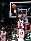 Ben Wallace Block Detroit Pistons NBA Wall Print POSTER US on eBay