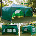 HeavyDuty Gazebo Marquee Party Tent Waterproof Canopy 3x3/3x4/3x6m Shade Shelter