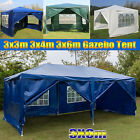 Gazebo Marquee Party Tent With Side Waterproof Garden Fully Patio Outdoor Canopy