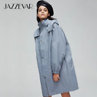JAZZEVAR2019 New arrival autumn trench coat women Loose clothing outerwear quali