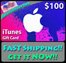 More images of $100 APPLE US iTUNES CARD gift certificate FAST FREE worldwide shipping