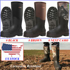 Kyпить HISEA Men's Rubber Hunting Boots 100% Waterproof Breathable Muck Mud Work Boots на еВаy.соm