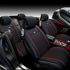 Auto Car Universal Front + Rear Cushion Full Set Seat PU Leather Protector Cover $71.98 USD on eBay