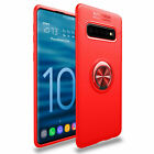 For Samsung Galaxy S9 S10 S8 Note10 Back Case Cover With 360° Ring Holder Stand