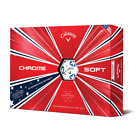 2019 Callaway Truvis Chrome Soft  Golf Balls Stars And Stripes