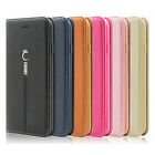 For Apple Iphone 6/7/ 8 Plus Luxury Magnetic Card Slot Leather Wallet Case Stand