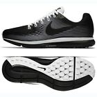 Nike Air Zoom Pegasus 34 LE 883268-001 Black/Black/White Men's Running Shoes