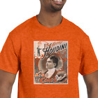 Harry Houdini T-Shirt NEW (NWT) *Pick your color & size* magician image