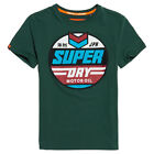 Superdry NEW Men's Heritage Classic Tee - Eagle Green BNWT