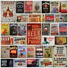 Funny Beer Metal Plaque Collection - Retro Bar Pub Diner Shed Man Cave Tin Sign