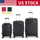 Kyпить BHC 3PCS Luggage Bag Carry On Set Trolley Suitcase ABS+PC w/Cover Travel Spinner на еВаy.соm