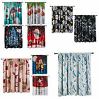 Multiple Patterns Window Drapes Insulated Blackout Curtains for Home Decoration