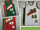 3 Colors Shawn Kemp #40 Seattle Supersonics Throwback Swingman Jersey Size S-XXL on eBay