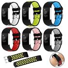 Replacement Silicone Sports Strap Wrist Band For Fitbit Charge 2 / 2 HR Watch