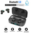 bluetooth stereo headphone tws wireless earbuds noise cancelling earphone bass