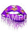 Minnesota Vikings glitter Lips VINYL iron on transfer $4.75 USD on eBay