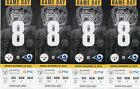 4 TICKETS LOS ANGELES RAMS @ PITTSBURGH STEELERS NOV. 10 For Sale
