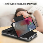 US 20000mAh Power Bank Qi Wireless Charger Stand Battery For iPhone XS 11Pro Max