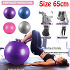 Exercise Ball Gym Yoga Fitness Anti-burst Leg Workout Balance Trainer image