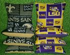 New Orleans Saints LSU Set of 8 Cornhole Bean Bags FREE SHIPPING $26.99 USD on eBay