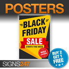 BLACK FRIDAY SALE POSTER - STARTS THIS WEEK printed posters sign (BA002)