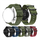 Quick Release 18mm 20mm 22mm Lug Military Woven Nylon Watch Band Watchband Strap image