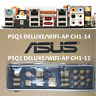 Shield Backplate FOR ASUS P5Q3 DELUXE/WiFi-AP CH1-14 IO I/O Shield Back Plate