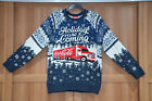Coca Cola Christmas Truck Navy Jumper Holidays Are Coming Size: S M L XL 2XL 3XL £44.99  on eBay