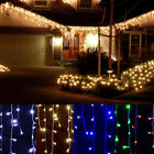 Christmas Outdoor Decoration 5m 220/110V Droop Curtain Icicle String LED Light A