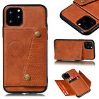 For Iphone 11 Pro Max Xs 8 7 6 Plus Wallet Pu Leather Stand Card Slot Cover Case