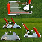 Golf Training Aid with 4 Poles Putting Plane Path Practice Golf Swing Trainer US