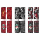 LIVERPOOL FC DIGITAL CAMOUFLAGE PU LEATHER BOOK WALLET CASE FOR HTC PHONES 1