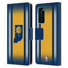 OFFICIAL NBA INDIANA PACERS LEATHER BOOK CASE FOR HUAWEI PHONES