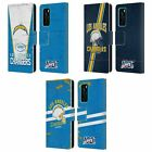 OFFICIAL NFL 2019/20 LOS ANGELES CHARGERS LEATHER BOOK CASE FOR HUAWEI PHONES $19.95 USD on eBay