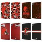 OFFICIAL NFL 2018/19 CLEVELAND BROWNS LEATHER BOOK CASE FOR APPLE iPAD $27.95 USD on eBay
