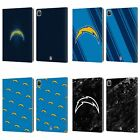 NFL 2017/18 LOS ANGELES CHARGERS LEATHER BOOK WALLET CASE COVER FOR APPLE iPAD $26.95 USD on eBay