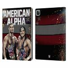 OFFICIAL WWE AMERICAN ALPHA LEATHER BOOK CASE FOR APPLE iPAD