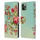 MARK ASHKENAZI FLORALS LEATHER BOOK WALLET CASE COVER FOR APPLE iPHONE PHONES