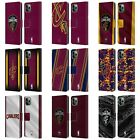 NBA CLEVELAND CAVALIERS LEATHER BOOK WALLET CASE FOR APPLE iPHONE PHONES on eBay