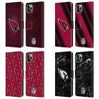 NFL 2017/18 ARIZONA CARDINALS LEATHER BOOK WALLET CASE FOR APPLE iPHONE PHONES $27.95 CAD on eBay