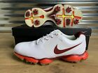 Nike Lunar Control II 2 Golf Shoes White Red SZ 11 ( 552073-130 ) NEW!!