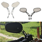 Pair 8mm Rear View Side Mirrors For Harley Road Glide King Street Bob 2011-2016 $31.18 USD on eBay